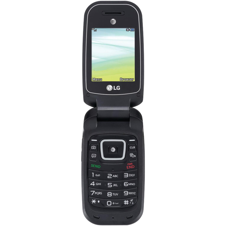 AT&T PREPAID LG B470 256MB Prepaid Smartphone, Black