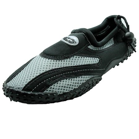 Men's Wave Water Shoes Aqua Socks (Best Water Shoes For Swimming)