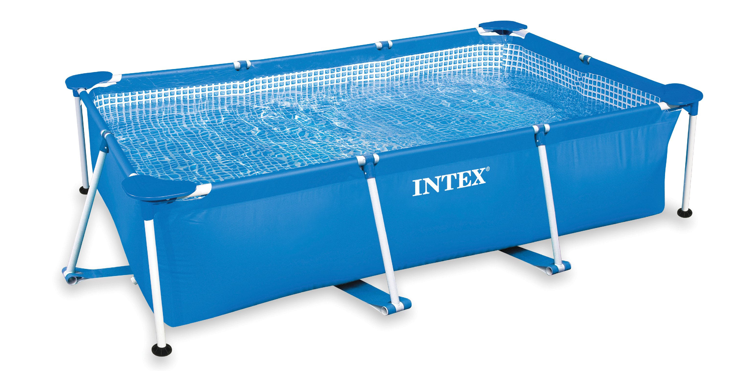 "Intex 86"" x 59"" x 23"" Rectangular Frame Above Ground Baby Splash Swimming Pool by Intex"