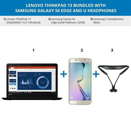 Refurbished Lenovo ThinkPad 13 bundled with Samsung Galaxy S6 Edge ThinkPad 13 20GJS00600 (Lenovo Thinkpad Edge E145)