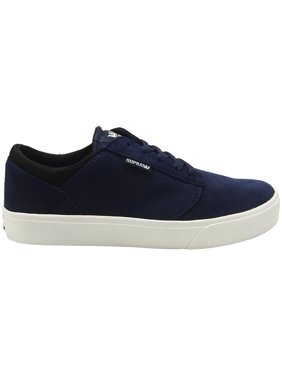 dbc74463c3ff Product Image Supra Men s Yorek Low Navy Black White Sneaker 10.5M