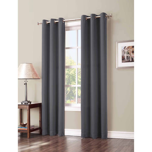 Lovely Sun Zero Nolan Blackout Grommet Curtain Panel