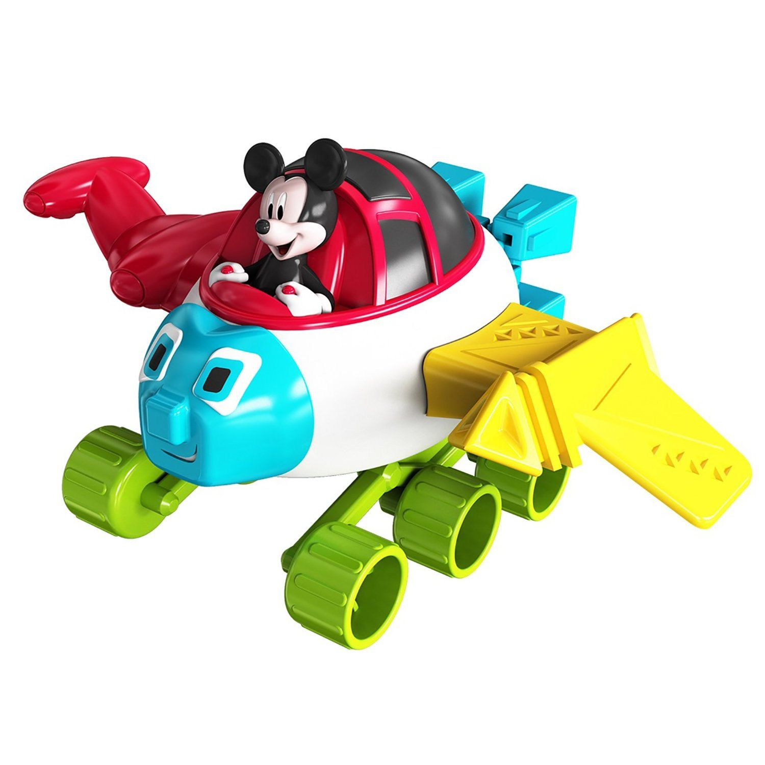 IMagicademy Rocket Builder Playset Mickey Mouse Building Set by KIDdesigns