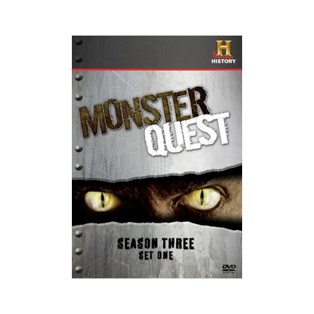 Monster Quest: Season 3 Set One (DVD)](Tiny Monsters Halloween Quest)