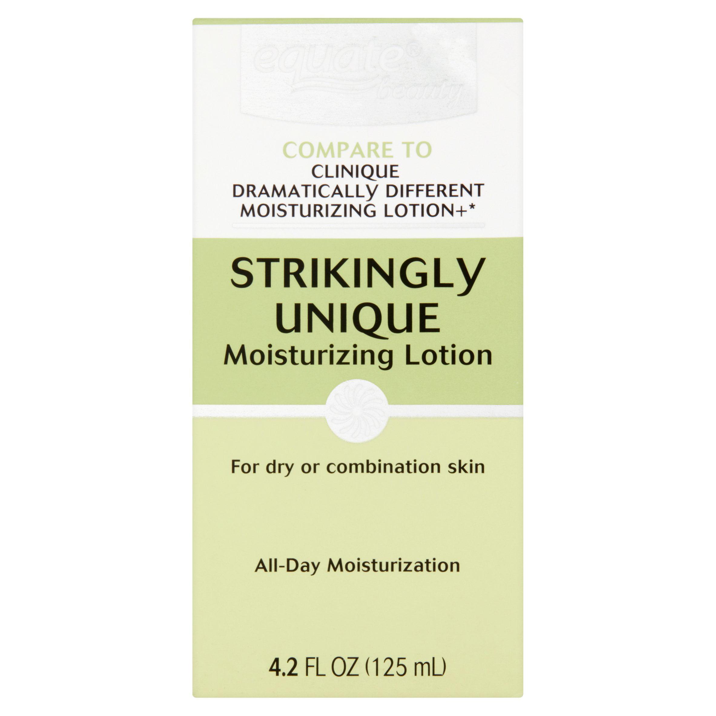 Equate Beauty Strikingly Unique Moisturizing Lotion, 4.2 Oz