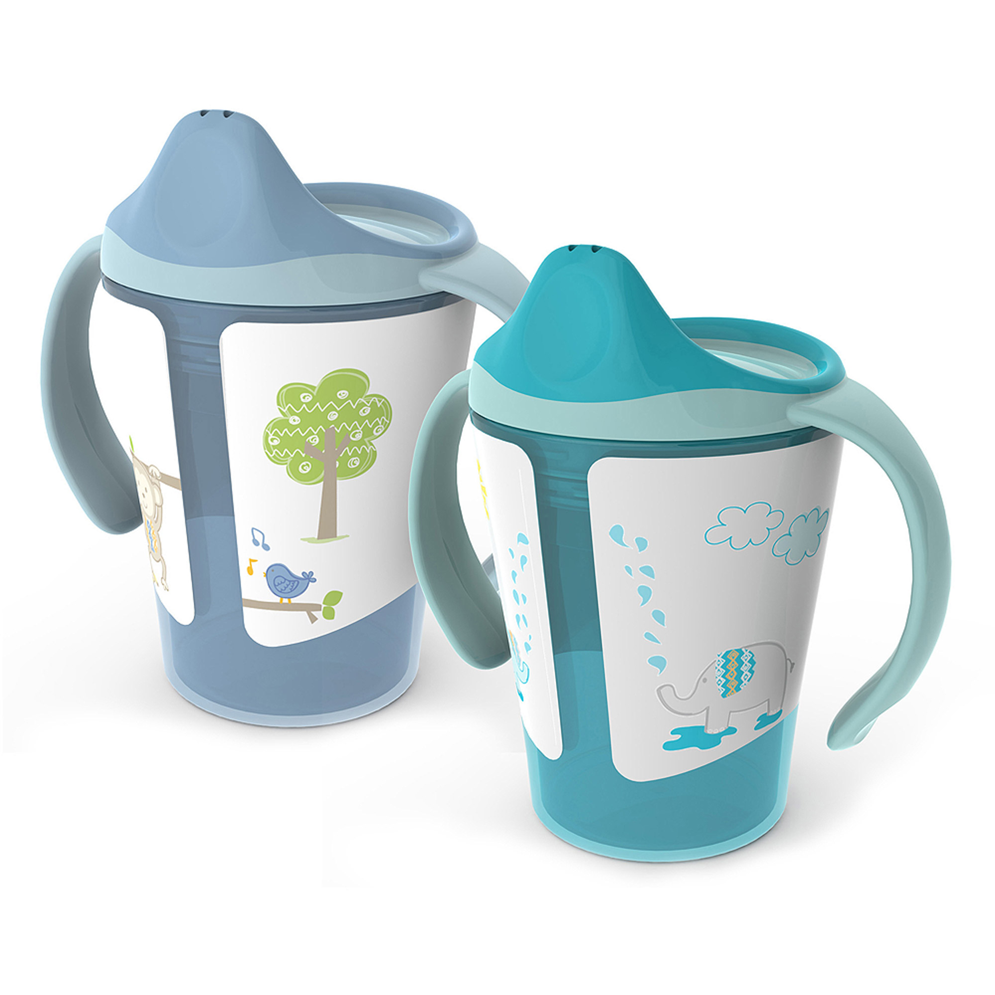 Born Free 6 oz Training Cup, BPA-Free, 2-Pack
