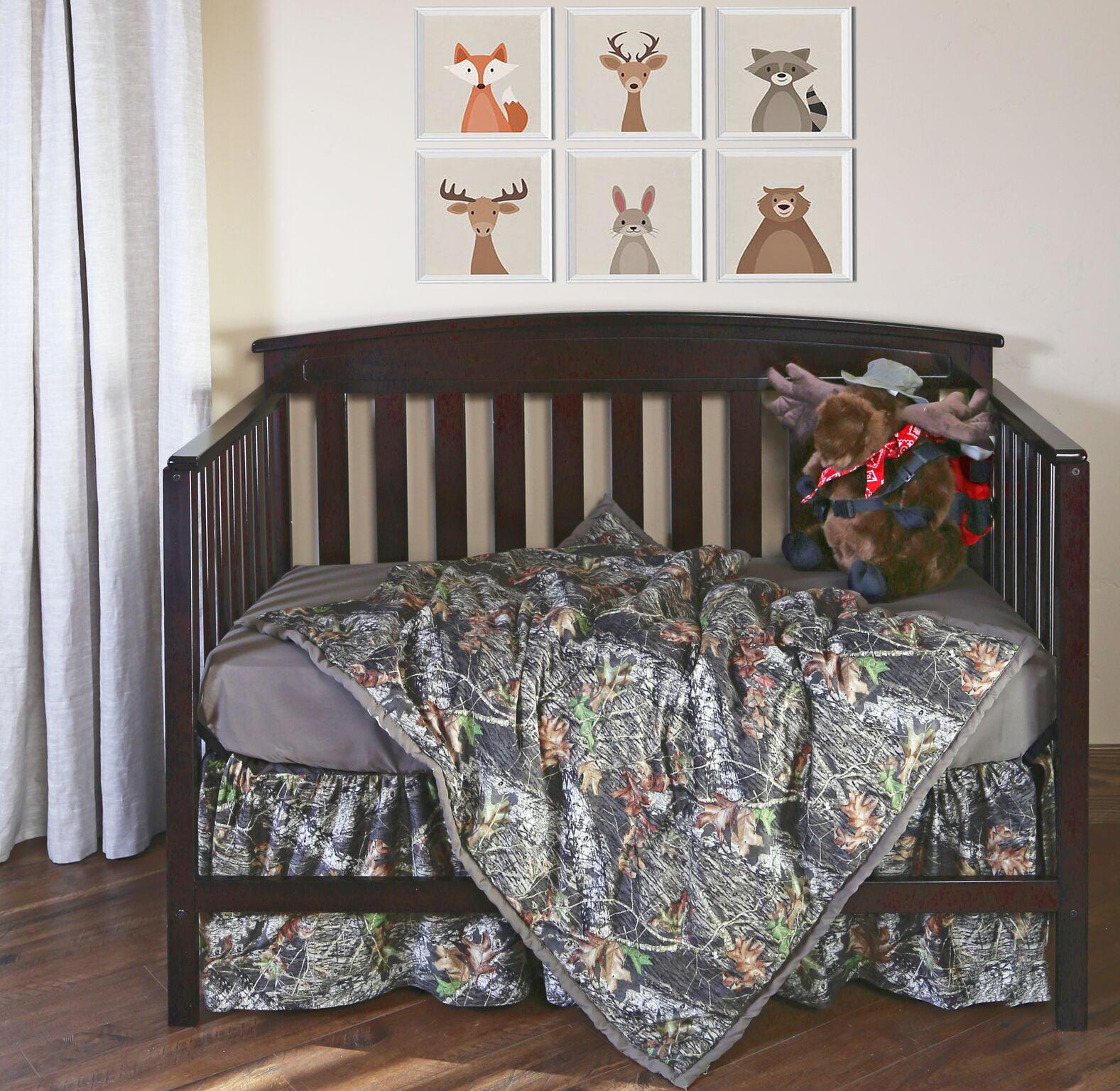 Mossy Oak Camo 3 Piece Baby Crib Sheet Set Walmart Com Walmart Com