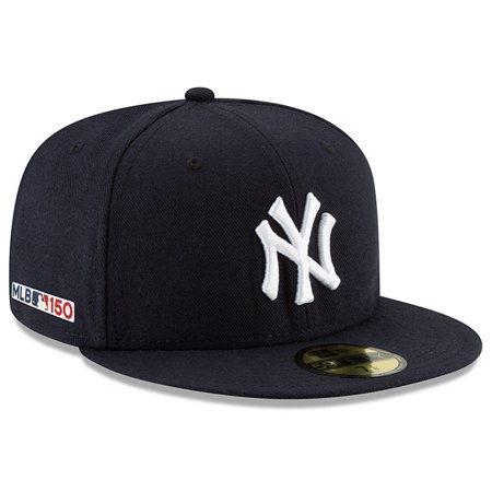 New York Yankees New Era MLB 150th Anniversary Authentic Collection 59FIFTY Fitted Hat -