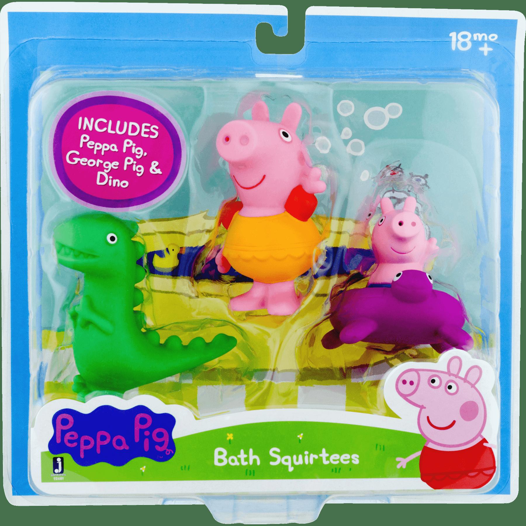 Peppa Pig Bath Squirtees by Peppa Pig