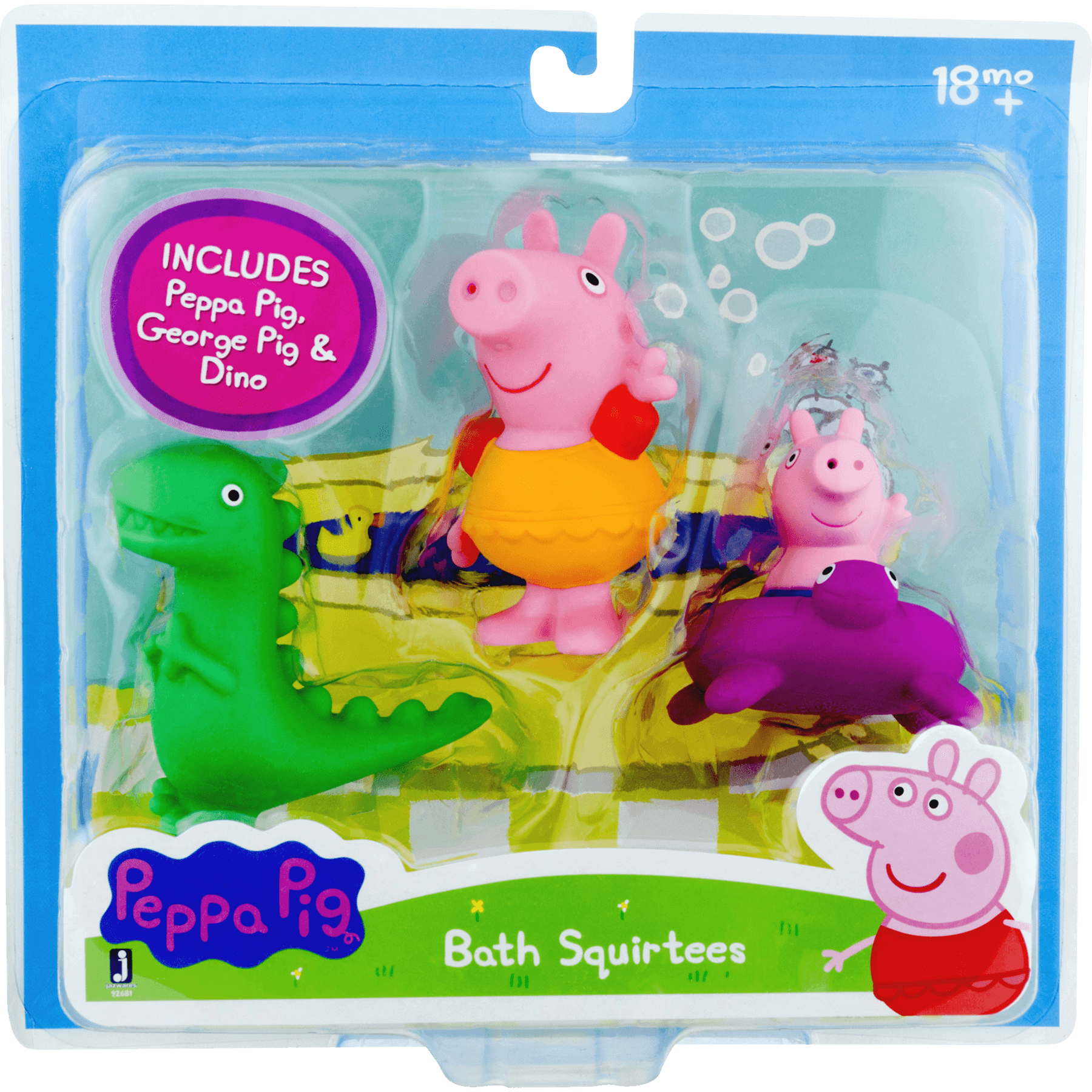 Peppa Pig Bath Squirtees