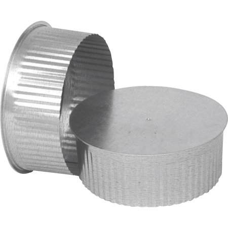 IMPERIAL MFG GROUP USA INC 3-Inch Round Galvanized End Cap GV0732