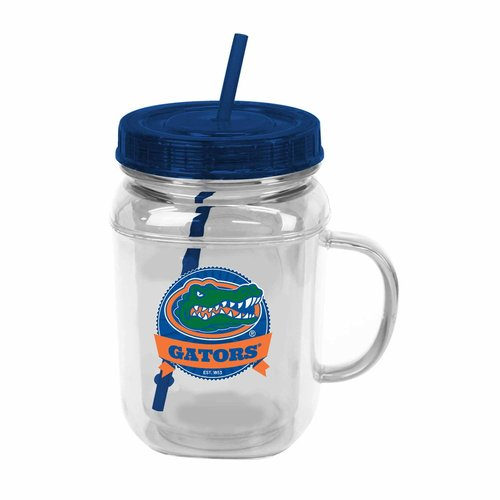 ***P95***NCAA Florida 31.5 oz Mason Jar Tumbler