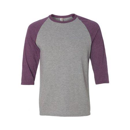 Anvil T-Shirts Triblend Raglan Sleeve T-Shirt 6755