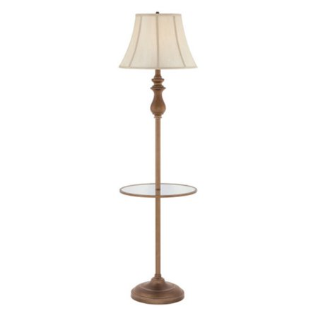 Quoizel Stockton Q1055F Floor Lamp with Table