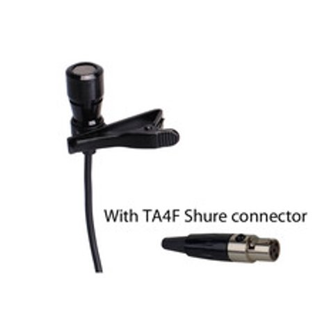 LAV-100SHU Lavalier - Lapel Microphone for Shure Wireless Systems