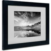 "Trademark Fine Art ""Beyond the Sky"" Canvas Art by Philippe Sainte-Laudy, Black Frame"