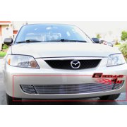 Compatible with 2001-2003 Mazda Protege Lower Bumper Billet Grille Insert M66223A