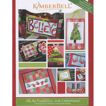 Kimberbell Oh, The Possibilities For Christmas Pattern Book