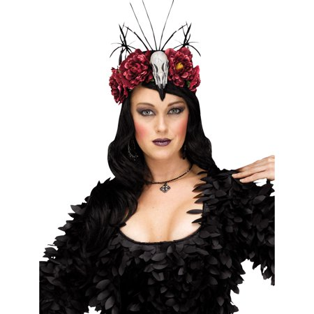 Raven Mistress Headpiece Halloween Costume - Halloween Headpiece