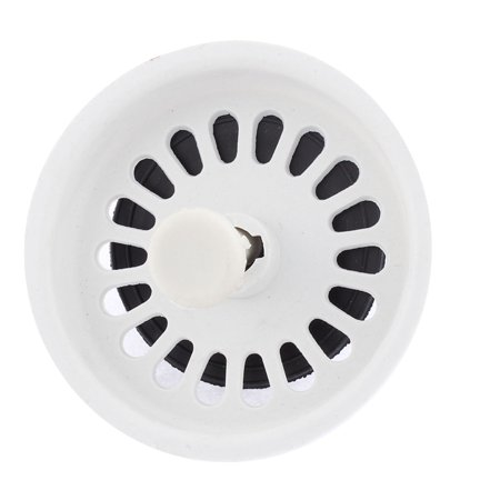 Unique Bargains Bathroom Kitchen Plastic Drain Sink Strainer Stopper for Residue Trapping (Plastic Sink Trap)