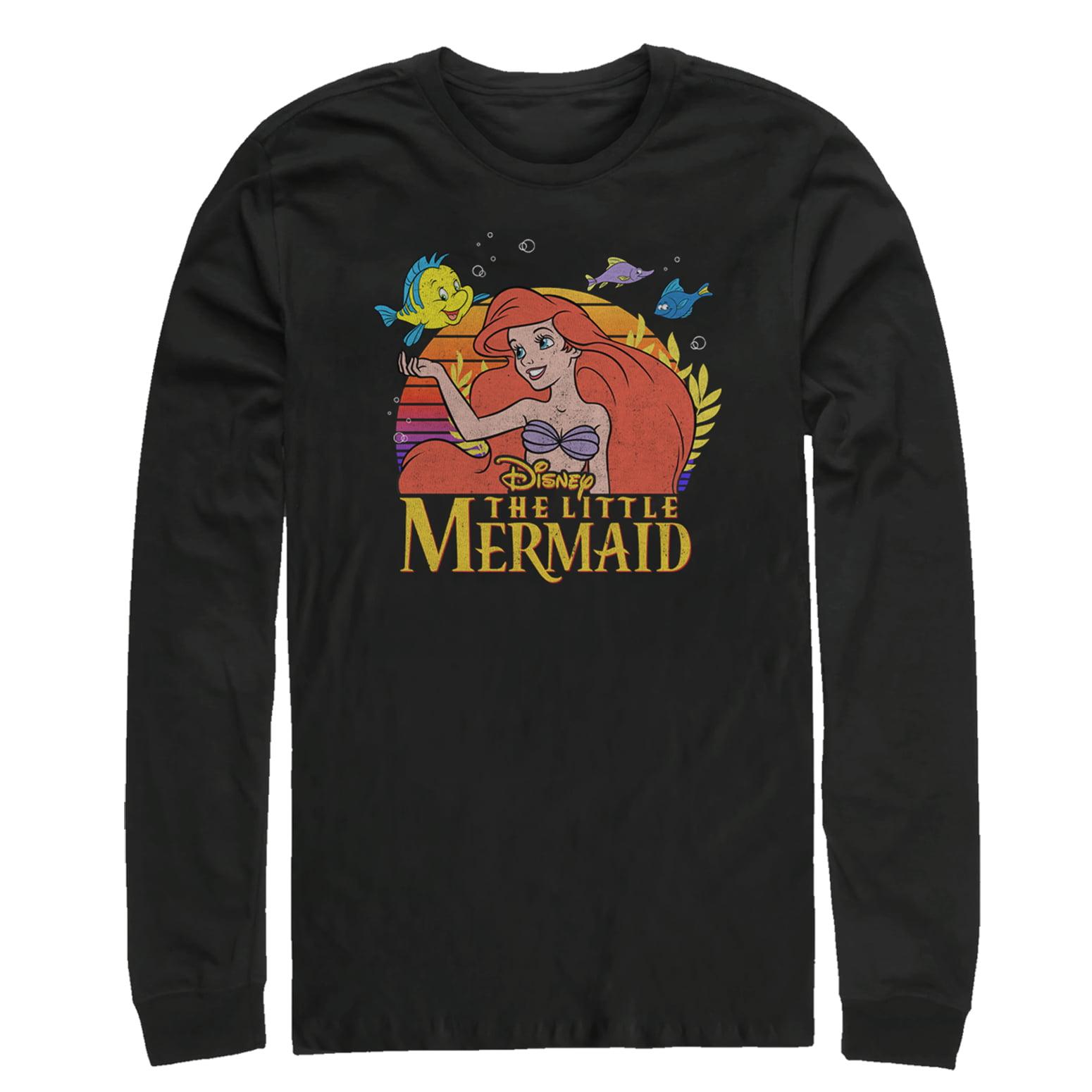 The Little Mermaid Men's Ariel Classic Long Sleeve T-Shirt