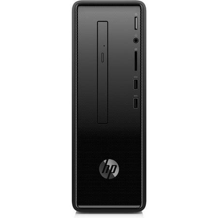 Slim Media Desktop (HP 290-a0011 Slim Desktop Comptuer AMD A6-9225 4GB 1TB Win10 Black Refurb)
