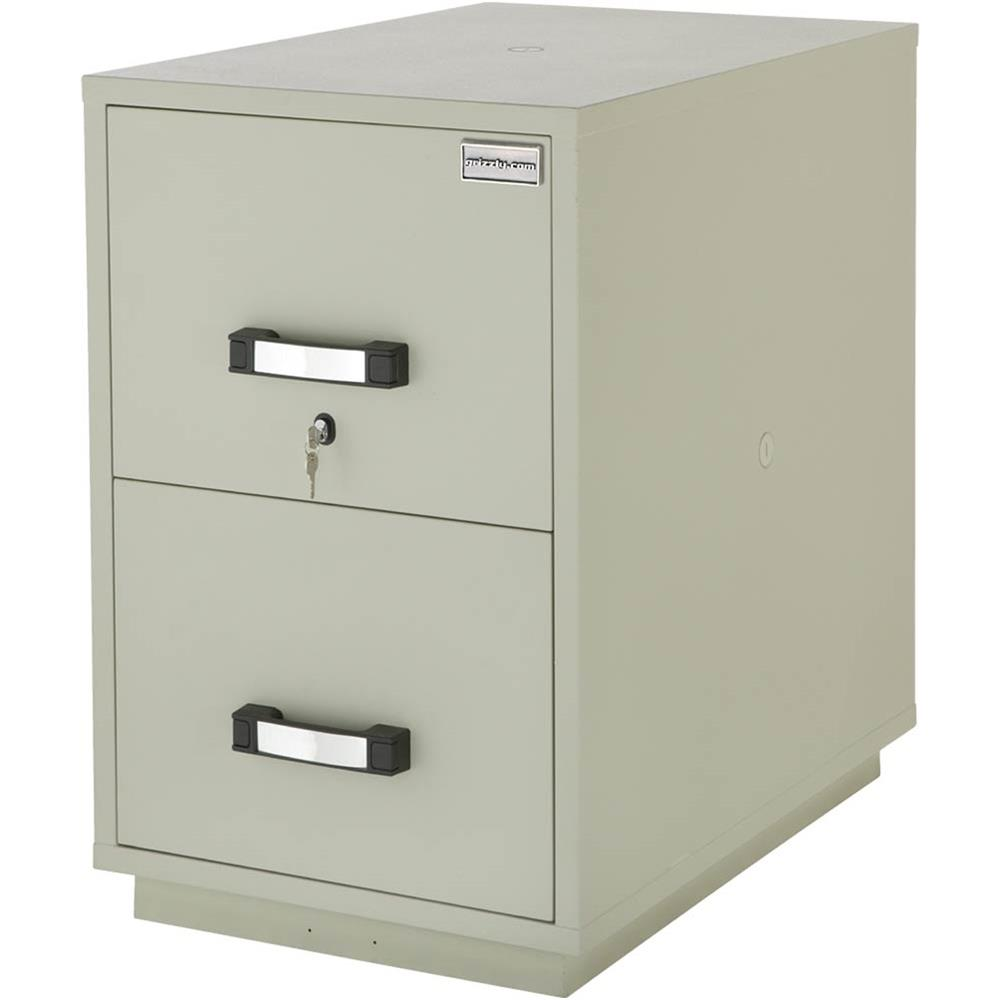 Grizzly T21541 2 Drawer Fire Resistant File Cabinet