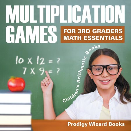 Multiplication Games for 3rd Graders Math Essentials Children's Arithmetic Books - Halloween Math Multiplication Games