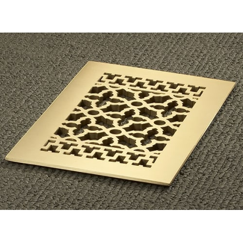 """Reggio Registers 812-BH Scroll Series 10"""" x 6"""" Grille with Mounting Holes"""