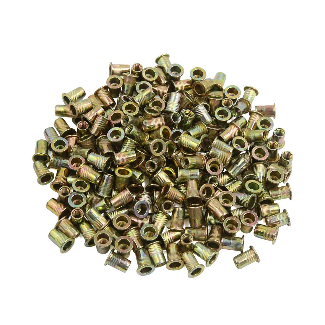 Pack of 5 1//2-13 Thread Size 4 Long Small Parts FSC504SHB Grade A Steel Square Head Bolt