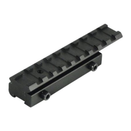 Dovetail To Weaver Mount Base Rail Mount Adapter, By TACBRO from USA (Weaver Rail 12)