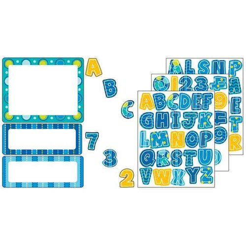 Bubbly Blues Sticker Variety Pack