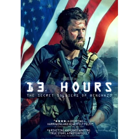 13 Hours: The Secret Soldiers of Benghazi (DVD) - 13 Days Of Halloween Day 2