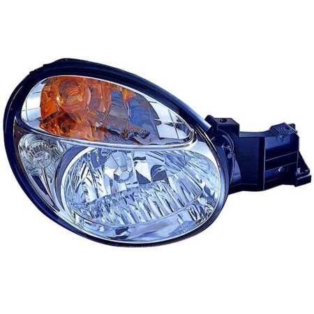 Go-Parts » 2002 - 2003 Subaru Impreza Front Headlight Headlamp Assembly Front Housing / Lens / Cover - Right (Passenger) Side - (4 Door; Sedan + 4 Door; Wagon) 84001FE020 SU2503113 Replacement For)