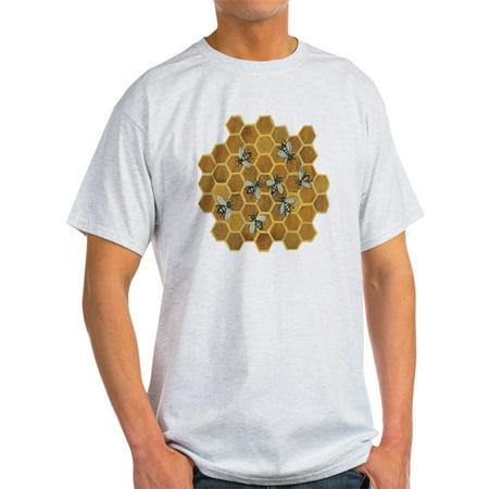 CafePress - Honey Bees - Light T-Shirt - CP