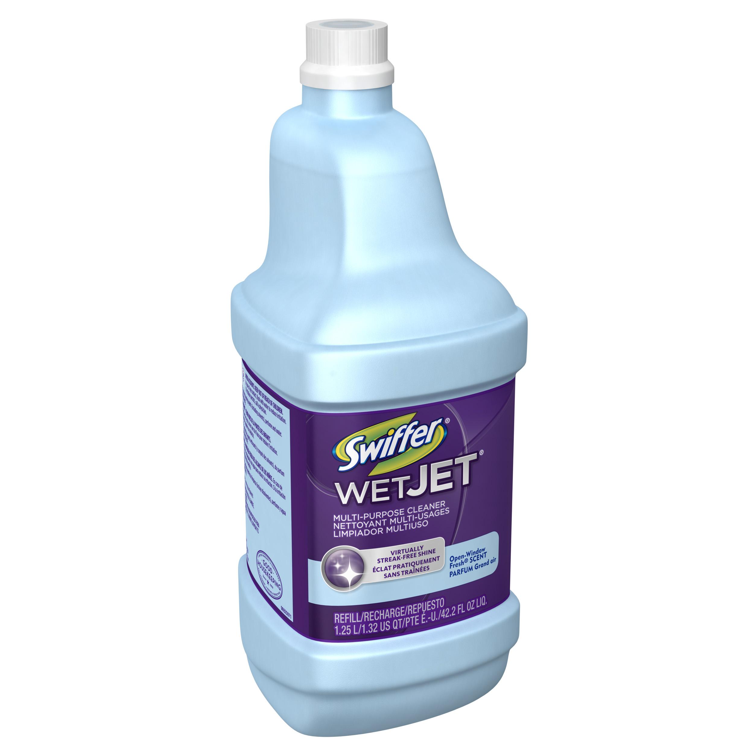 Home gt accessories gt bona pro series vinyl multipurpose cleaner - Swiffer Wetjet Multi Purpose Floor Cleaner Solution Refill Open Window Fresh Scent 1 25l