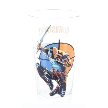 DC Comics Deathstroke 'Toon Tumbler 16 oz. Pint Glass - image 1 of 1