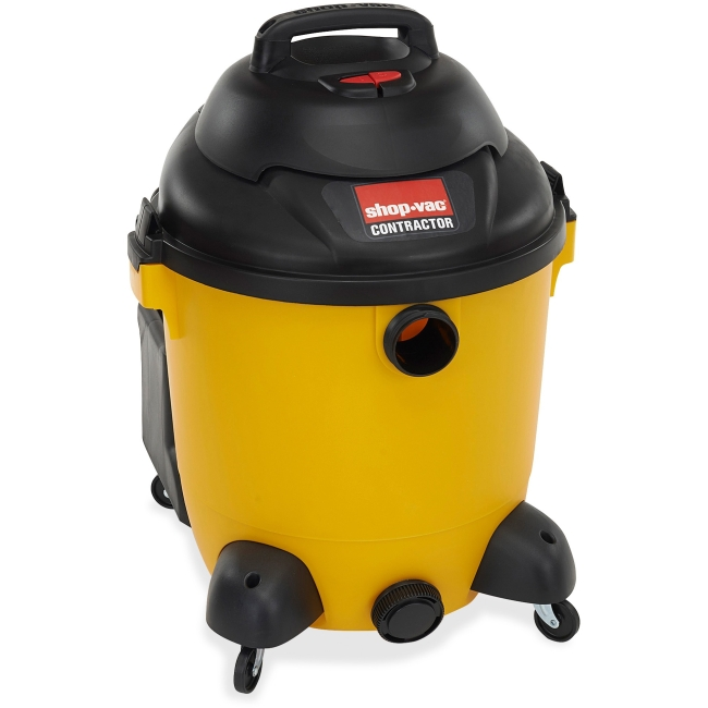 Shop-Vac Compact Vacuum Cleaner 3.73 kW Motor 350 W Air Watts 12 gal 18 ft Cable Length... by Shop-Vac Corporation