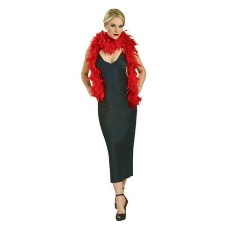 Red Fashion Boas Halloween Costume Accessory