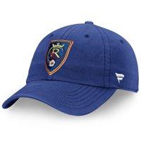 Real Salt Lake Fanatics Branded Fundamental Adjustable Hat - Blue - OSFA