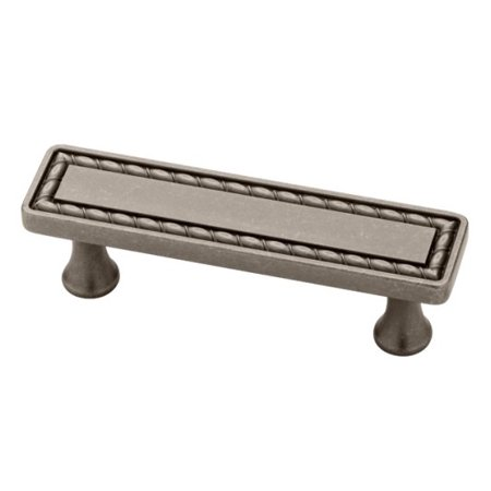 5 Pack 3 Wide Stitch Distressed Aged Pewter Pull