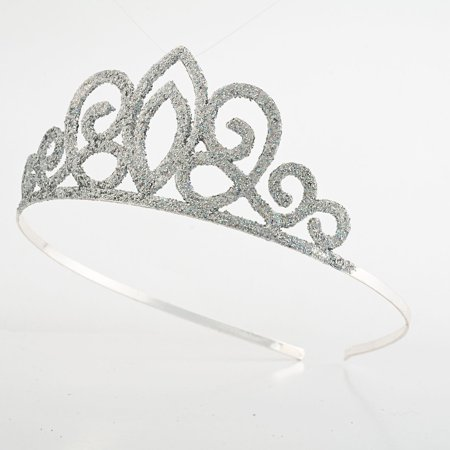 Sunnywood Spade Princess Glitter Tiara Adult Costume Accessory - Princess Costume Accessories