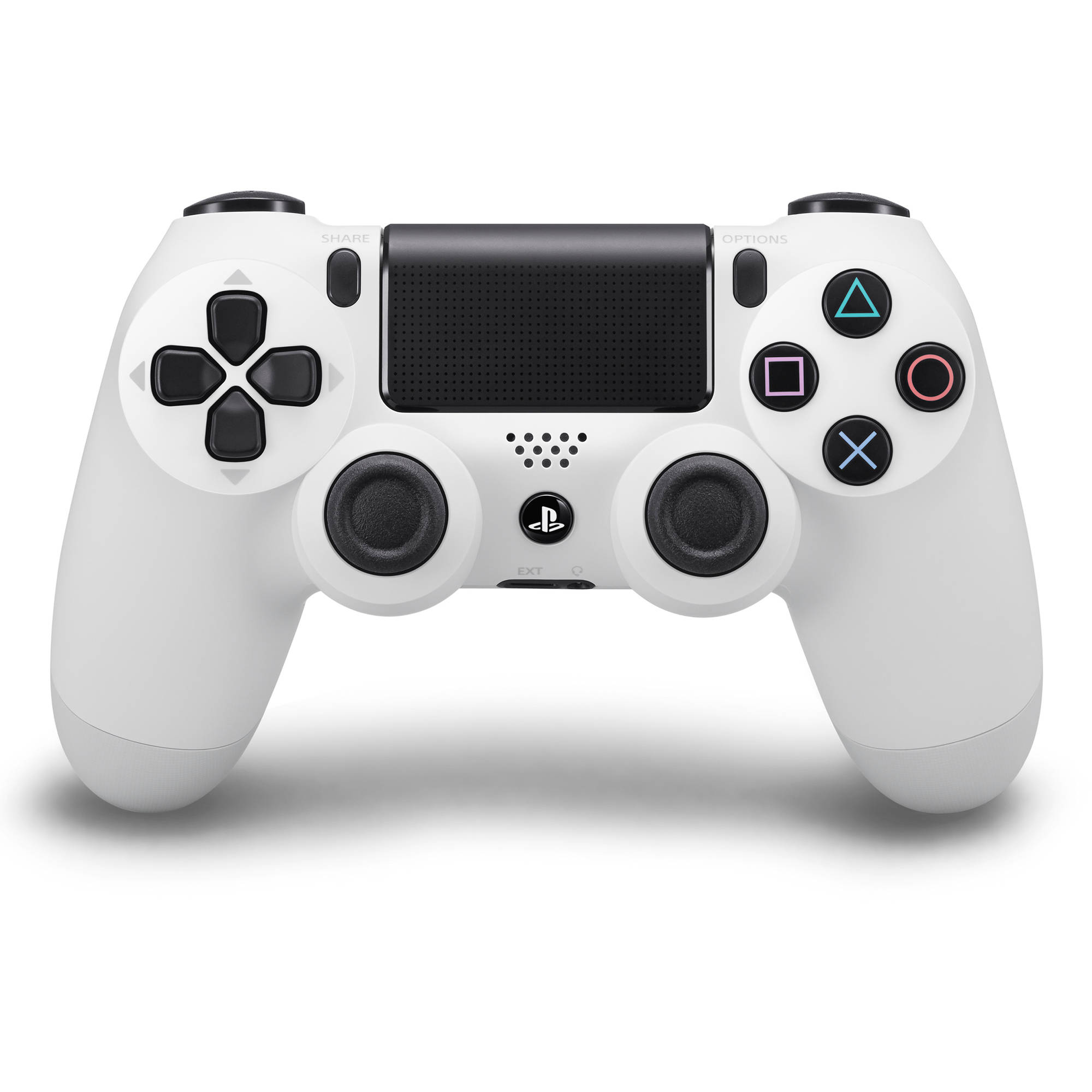 Sony Dualshock 4 Controller, Glacier White (Playstation 4) by Sony