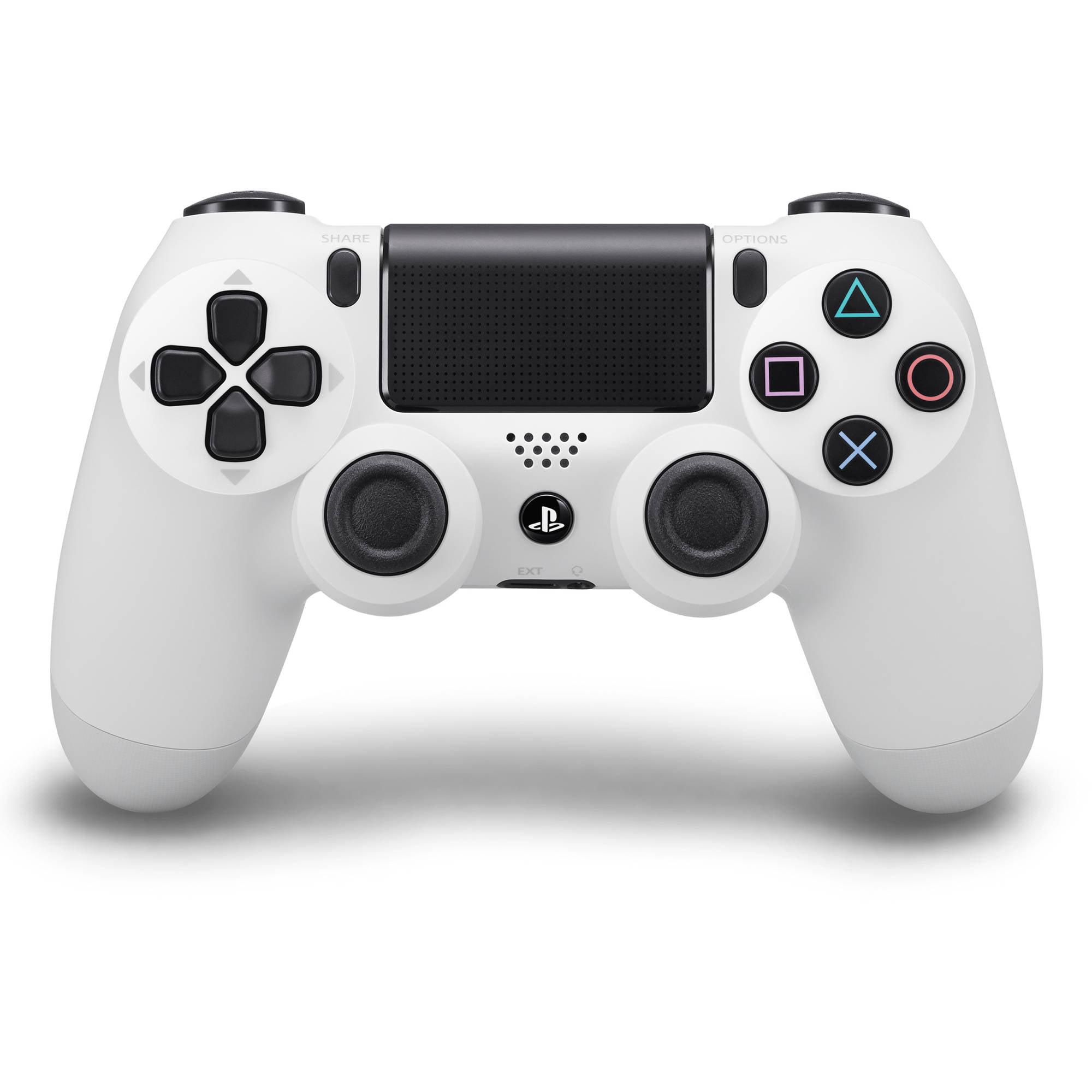 Sony Dualshock 4 Controller, Glacier White (PS4)