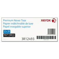 Xerox Revolution Premium Never Tear Paper, 12 x 18, 10.7 mil, 92 Bright, White, 50/PK