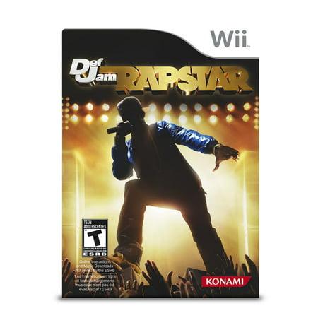Def Jam Rapstar - Nintendo - Def Jam Fight For Ny
