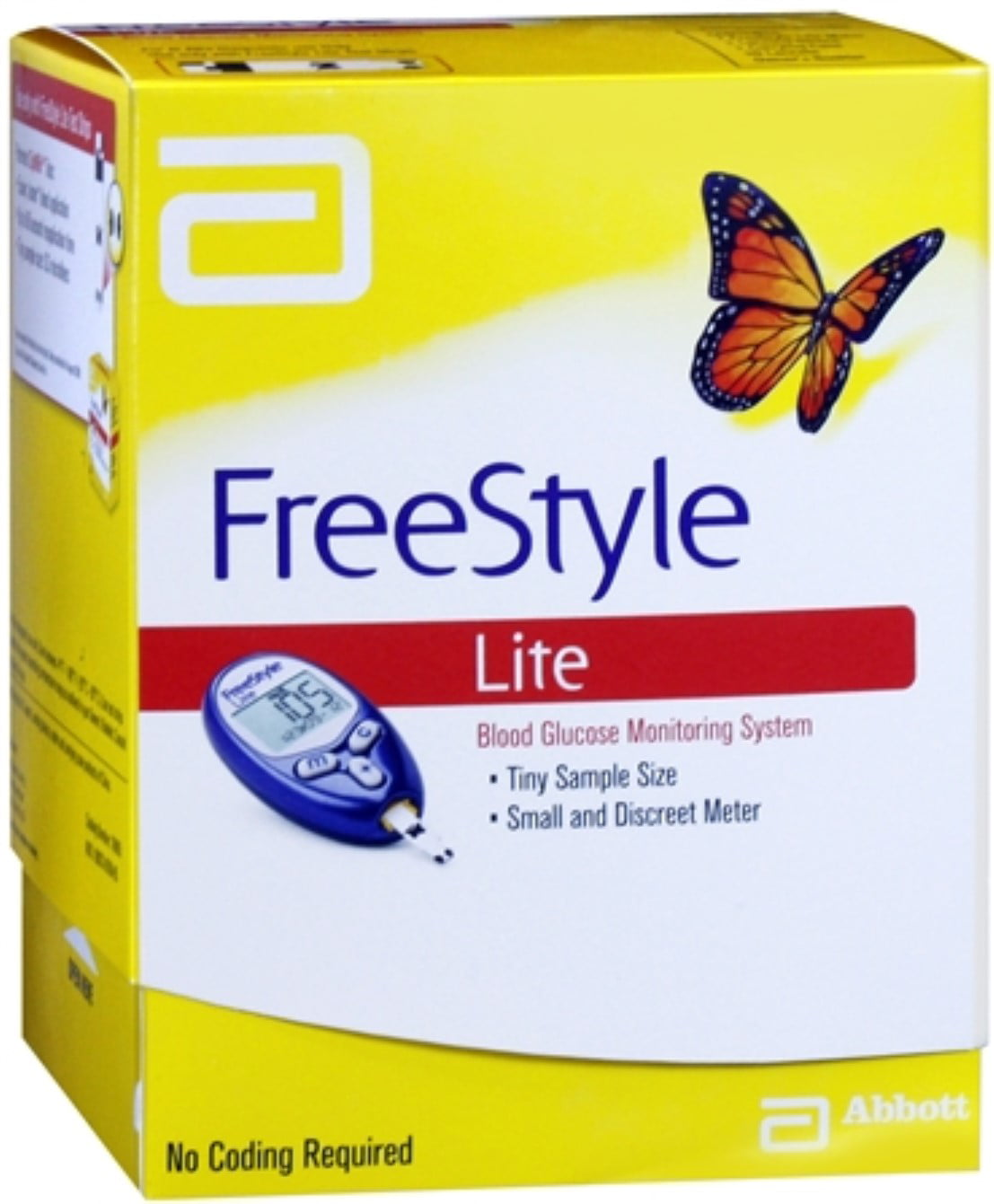 Freestyle Lite Blood Glucose Monitoring System Walmart Com