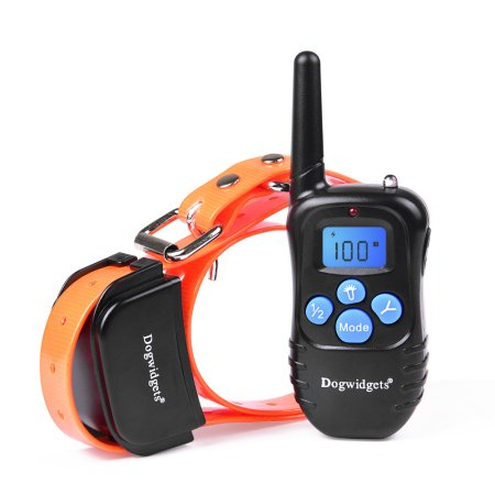 Dogwidgets DW-17 Remote Dog Training Collar Beep Vibrate Shock Water-Resistant Collar