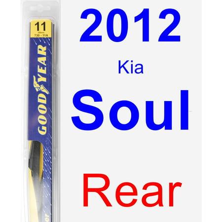 2012 Kia Soul Rear Wiper Blade - Rear