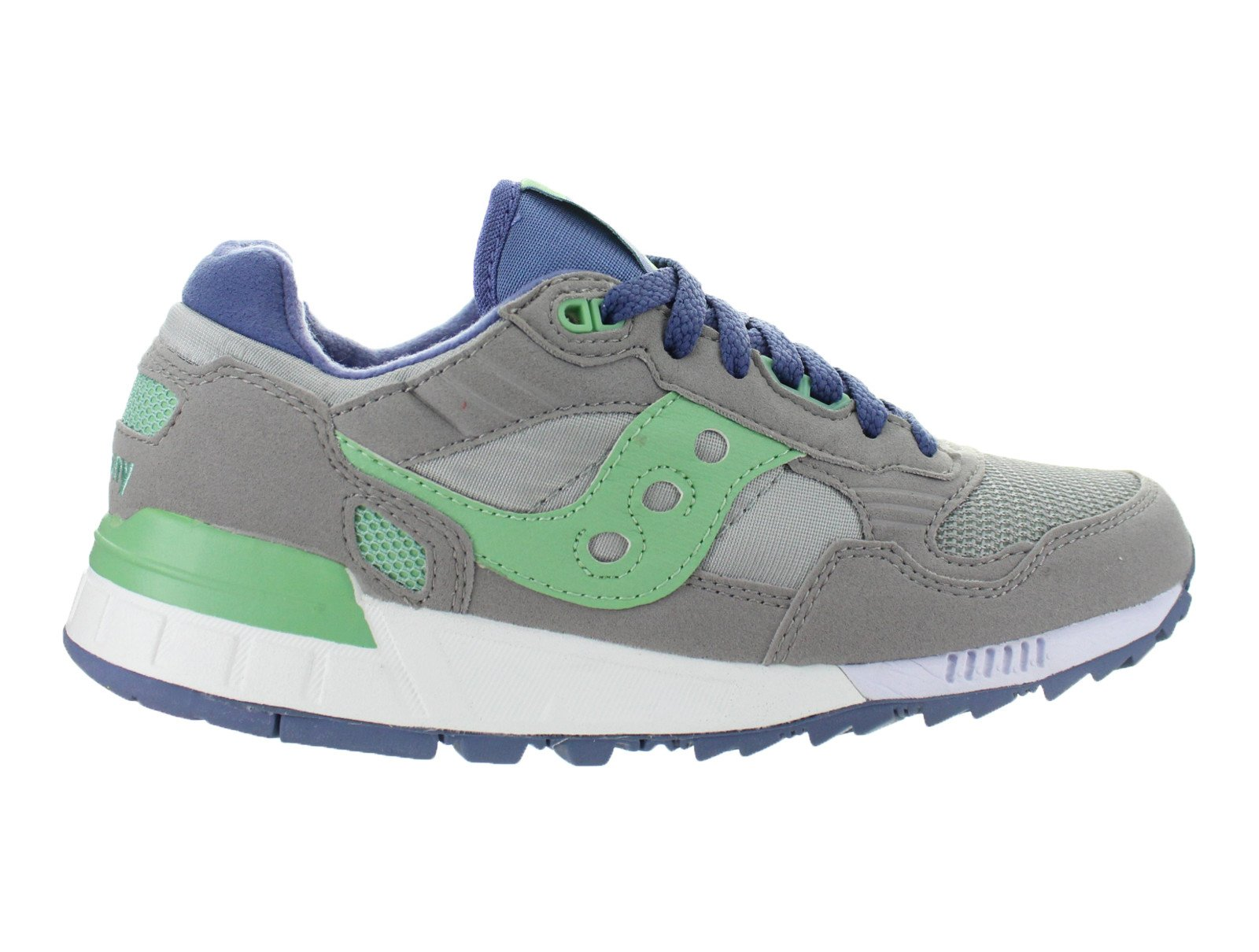 Womens Saucony Shadow 5000 Grey Light Green S60033-76 by